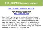 sec 435 rank successful learning 8