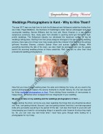 weddings photographers in kent why to hire them