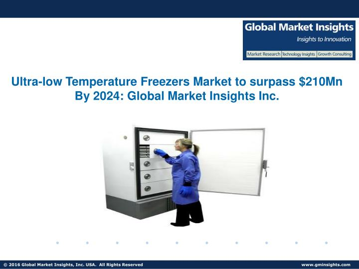 ultra low temperature freezers market to surpass n.