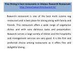 fine dining in best restaurants in udaipur bawarchi restaurant http www bawarchirestaurant in 1