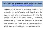 fine dining in best restaurants in udaipur bawarchi restaurant http www bawarchirestaurant in 3