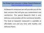 fine dining in best restaurants in udaipur bawarchi restaurant http www bawarchirestaurant in 4