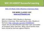 soc 315 assist successful learning 22