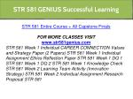 str 581 genius successful learning 3