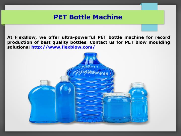 pet bottle machine n.