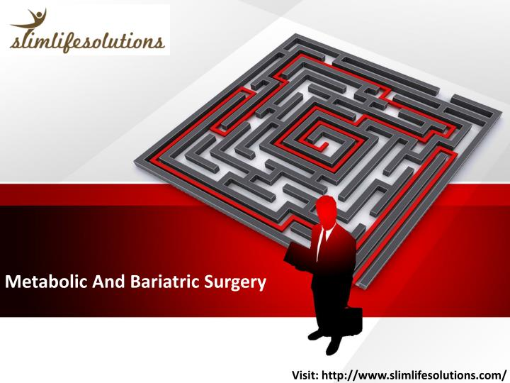 metabolic and bariatric surgery n.