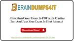 https www braindumps4it com braindumps
