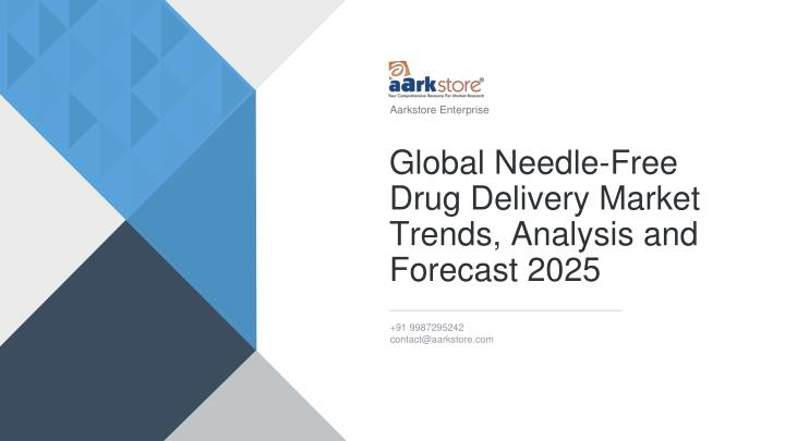 global needle free drug delivery market trends analysis and forecast 2025 n.