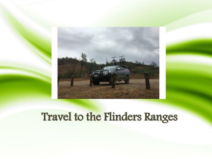 travel to the flinders ranges n.