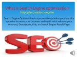 what is search engine optimization http