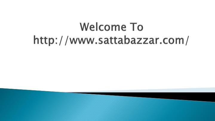 welcome to http www sattabazzar com n.