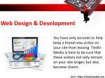 web design development
