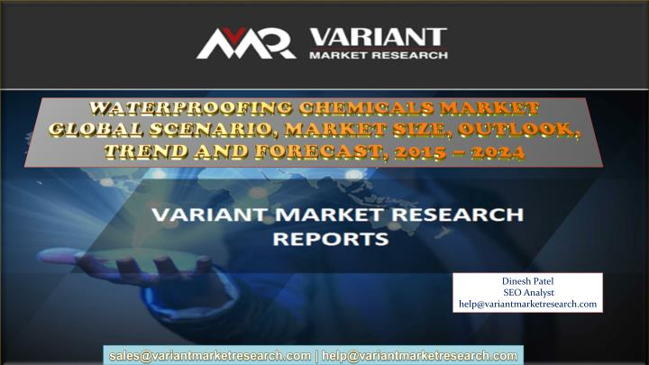 waterproofing chemicals market global scenario n.