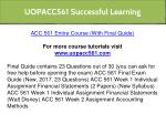 uopacc561 successful learning 1