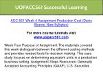 uopacc561 successful learning 15