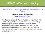 uopacc561 successful learning 5