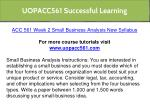 uopacc561 successful learning 8