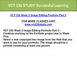 vct 236 study successful learning 1
