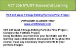 vct 236 study successful learning 3