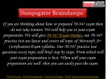 dumpsgator braindumps