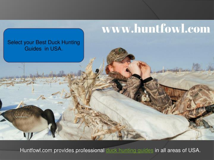 select your best duck hunting guides in usa n.