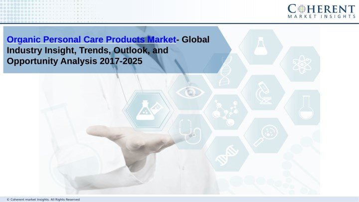 organic personal care products market global n.