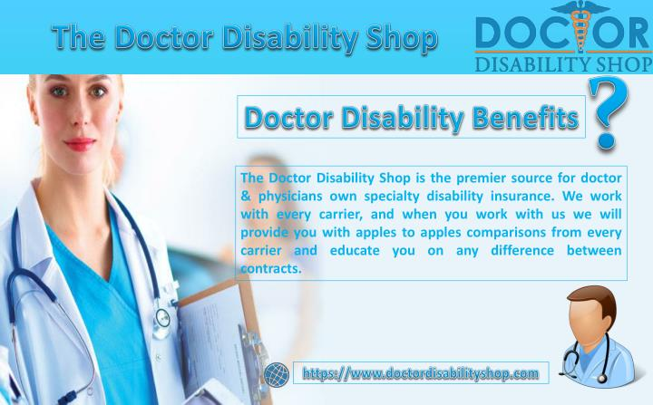 the doctor disability shop n.
