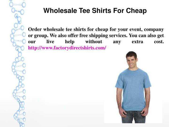 wholesale tee shirts for cheap n.