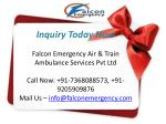 inquiry today now falcon emergency air train