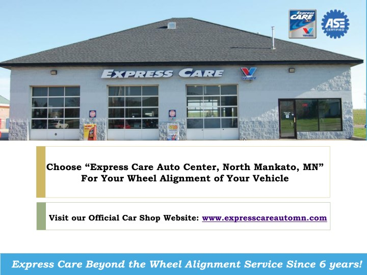 choose express care auto center north mankato n.