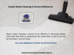 carpet steam cleaning in across melbourne 1