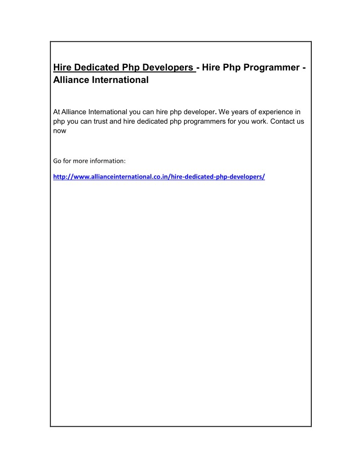 hire dedicated php developers hire php programmer n.