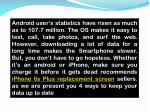 android user s statistics have risen as much