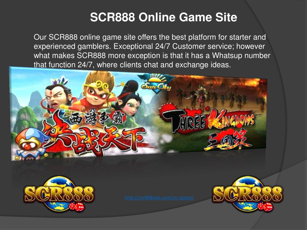 PPT - SCR888 online game is one of the best online casinos