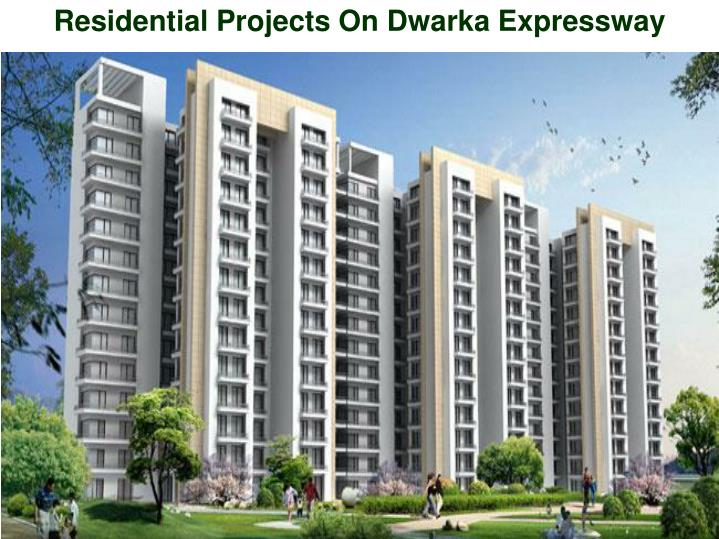 residential projects on dwarka expressway n.
