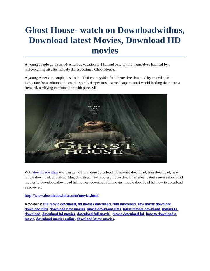 ghost house watch on downloadwithus download n.
