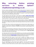 why services vinylbannersprinting co uk