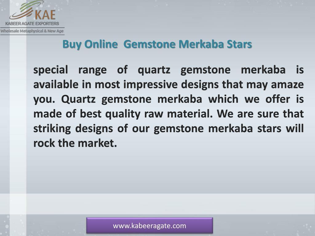 PPT - Wholesale Gemstone Merkaba Stars Suppliers | Spiritual