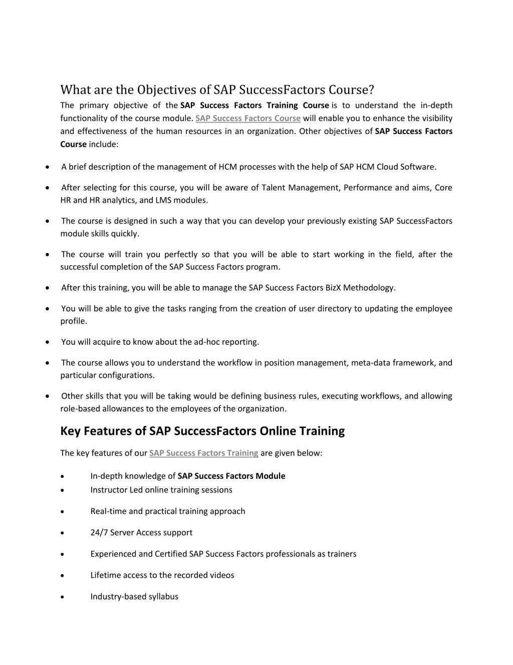 PPT - SAP Success factor PDF PowerPoint Presentation - ID