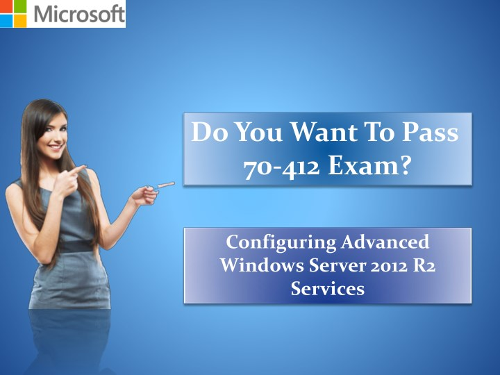 do you want to pass 70 412 exam n.