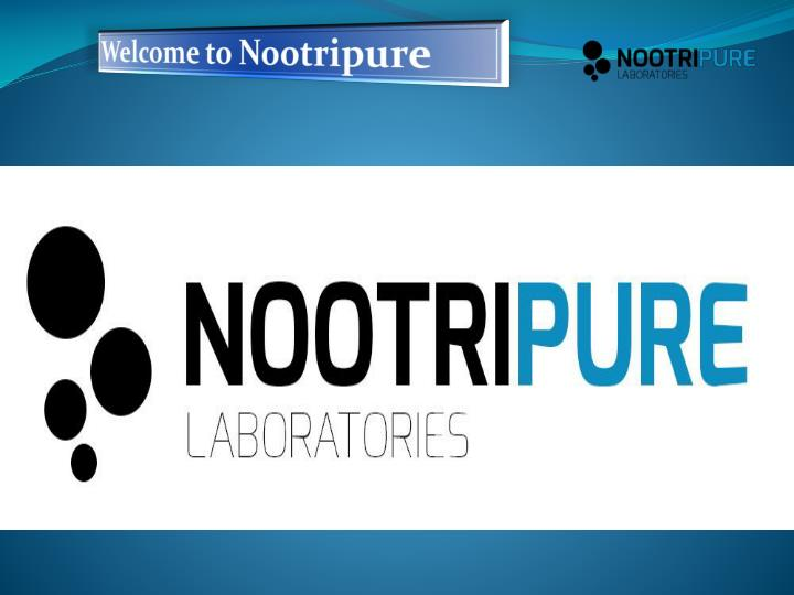 welcome to nootripure n.