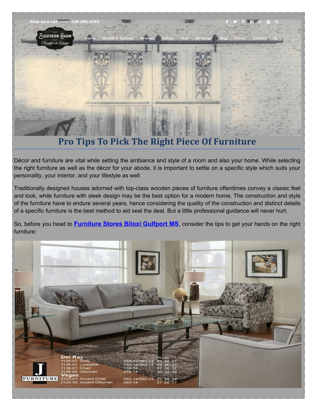 Ppt Southern Charm Furniture Design Offers The Best To