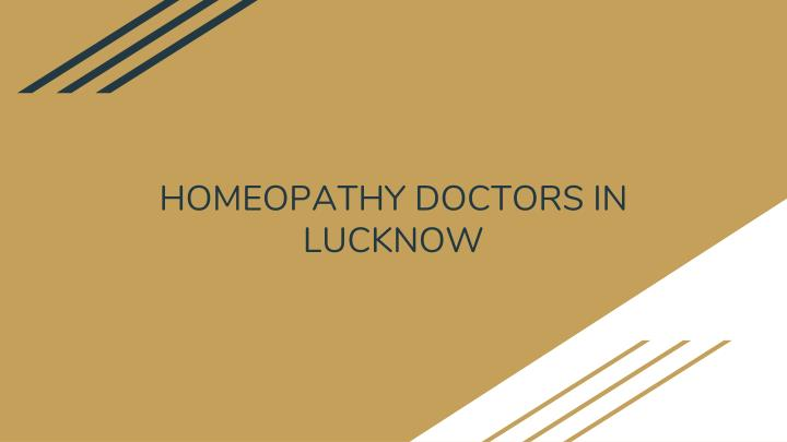 homeopathy doctors in lucknow n.