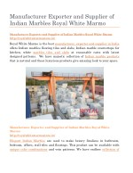 manufacturer exporter and supplier of indian