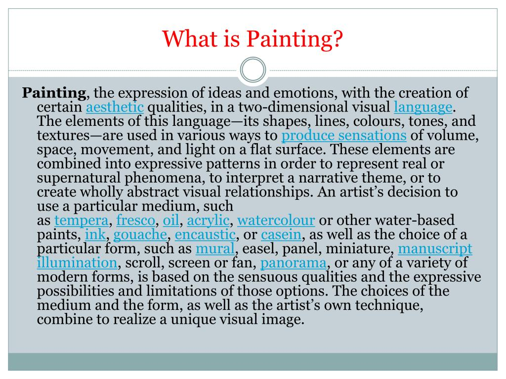 PPT - 40 Painting Techniques of fine art - ShowFlipper