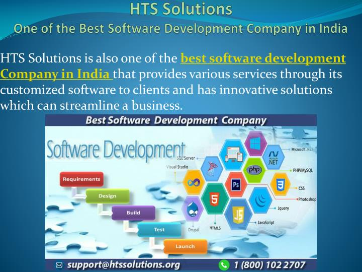hts solutions one of the best software development company in india n.