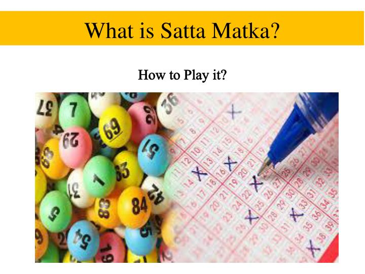 what is satta matka n.