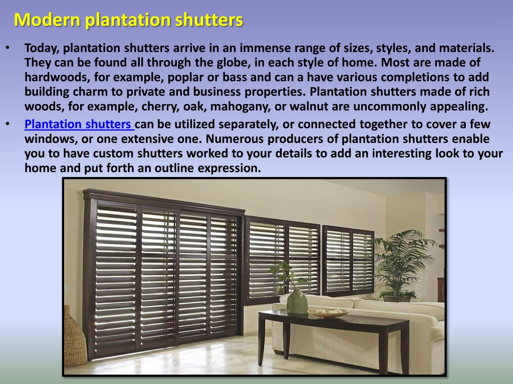 Ppt Keeping Your Home Safe And Warm With Plantation
