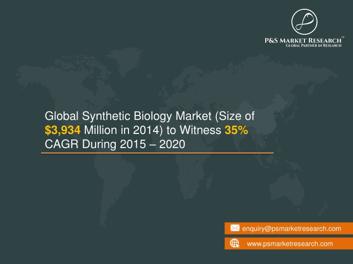 global synthetic biology market size n.