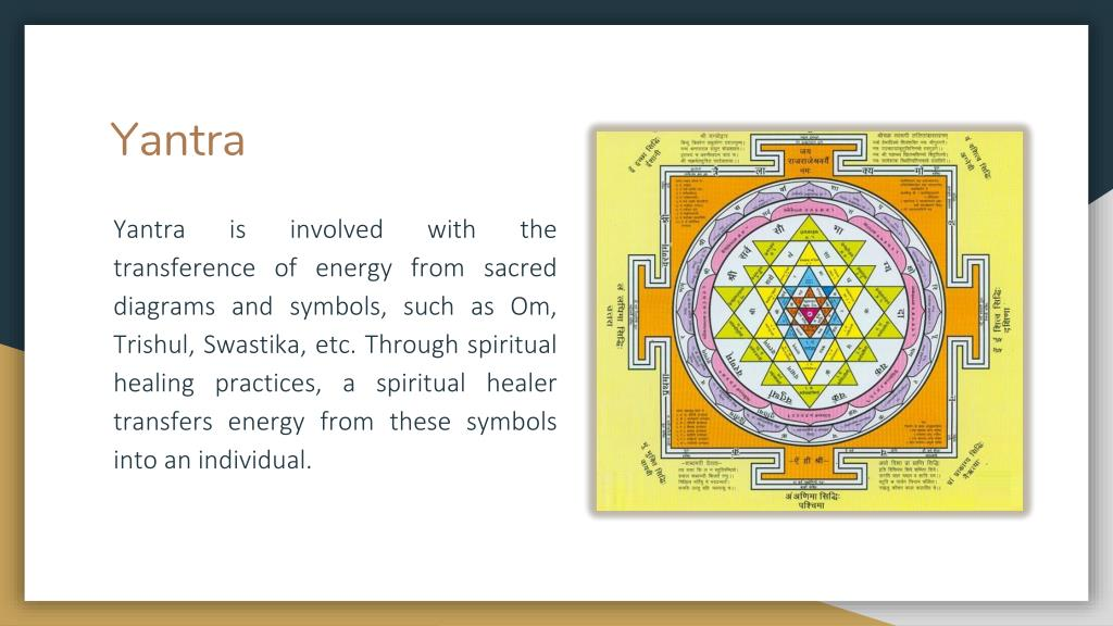 PPT - 3 Primary Components of Spiritual Healing – Tantra, Mantra